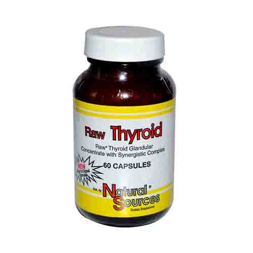 Thyroid glandular supplement