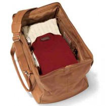 Widemouth Leather Weekend Bag