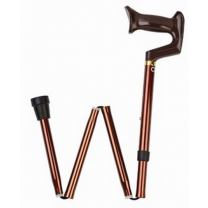 Adjustable Folding Cane with York Handle