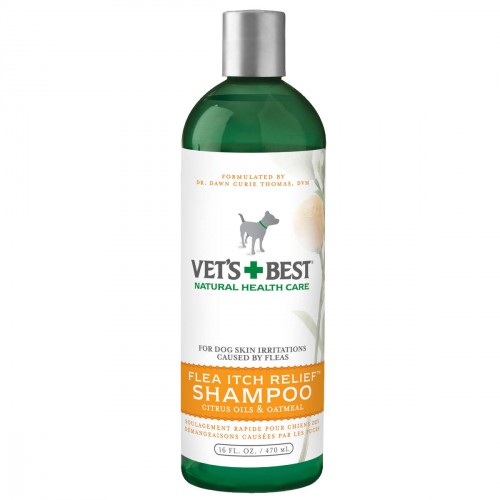 Flea Itch Relief Dog Shampoo