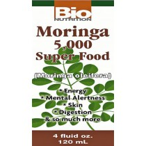 Bio Nutrition Moringa 5,000 mg Liquid Super Food Dietary Supplement