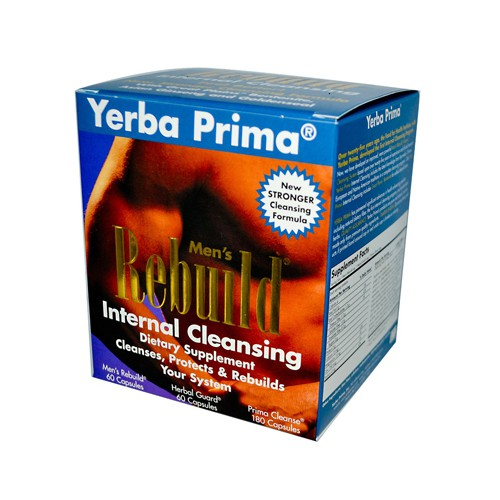 Yerba Prima Men's Rebuild Internal Cleansing