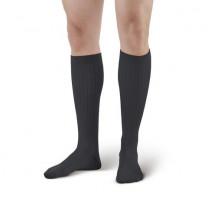 AW Style 129 Men's Microfiber/Cotton Knee High Dress Socks - 15-20 mmHg