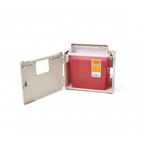 MedLine 5-Quart Biohazard Patient Room Sharps Container
