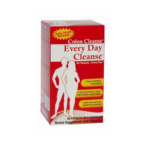 Health Plus Every Day Cleanse Dietary Supplement