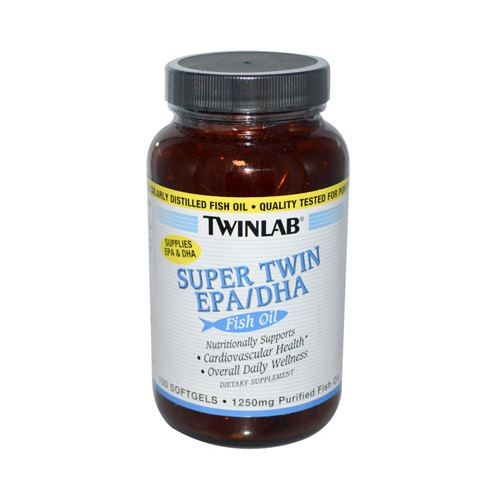 Twinlab super twin epa dha fish oil 610709 for Oxygen tablets for fish