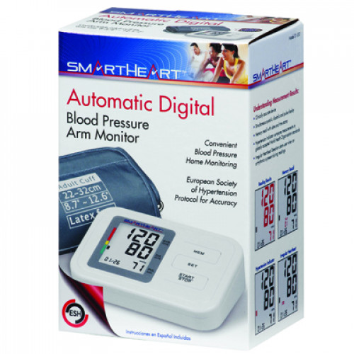 Baseline Auto-Inflate Blood Pressure and Pulse Monitor
