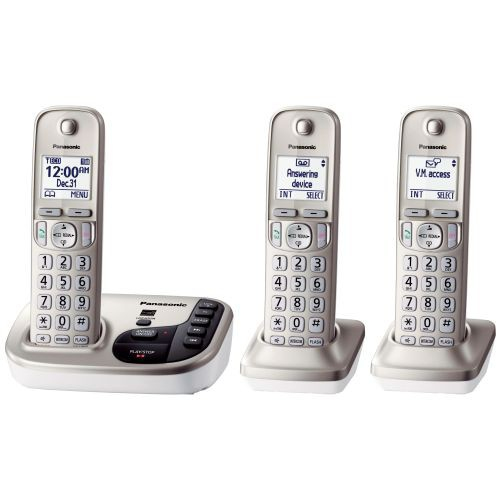 Expandable Cordless Phone with Talking Caller ID