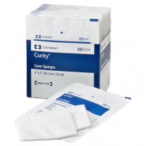 Covidien 3157 Curity 4 x 3 Inch Cover Sponges - Sterile