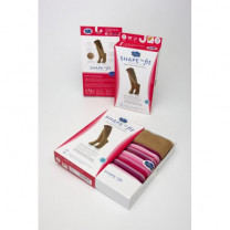 Box Wheat Micro-Nylon Fashion Trouser Socks 15-20 mmHg