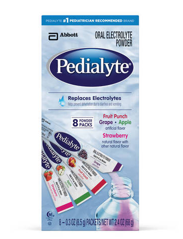 Pedialyte Oral Electrolyte Powder Packets Variety Pack