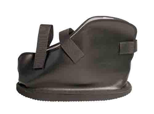 vinyl closed toe cast boot c9a
