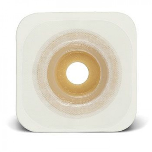 ConvaTec Sur-Fit Natura Moldable Durahesive Skin Barrier with Mold-to-Fit Opening and Acrylic Tape Collar