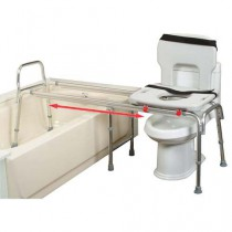 Eagle Health Toilet to Tub Sliding Transfer Bench 67993