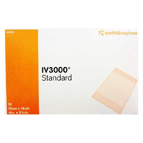 OpSite IV3000 Standard 4 x 5-1/2 Inch 4925 Central IV Dressing
