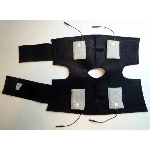 BioKnit Conductive Knee Brace w/ Fabric Electrodes