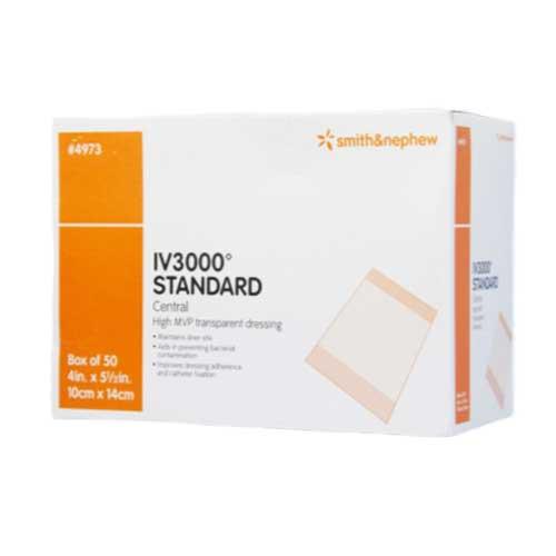 Smith & Nephew 4973 OpSite IV3000 Standard
