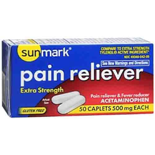 Sunmark Extra Strength Pain Reliever
