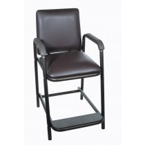 Hip High Chair Deluxe with Comfortable Padded Seat