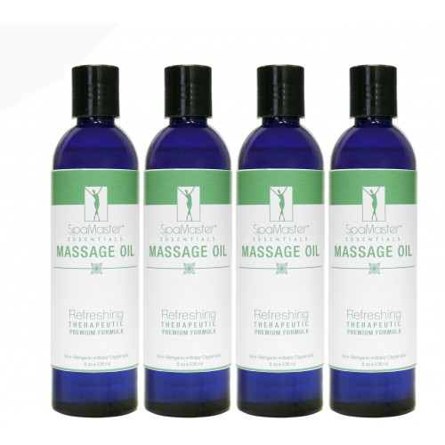 Refreshing Aromatherapy Blend Massage Oil