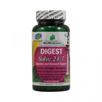 American Bio Sciences DIGESTSolve 24 7 Herbal Dietary Supplemt