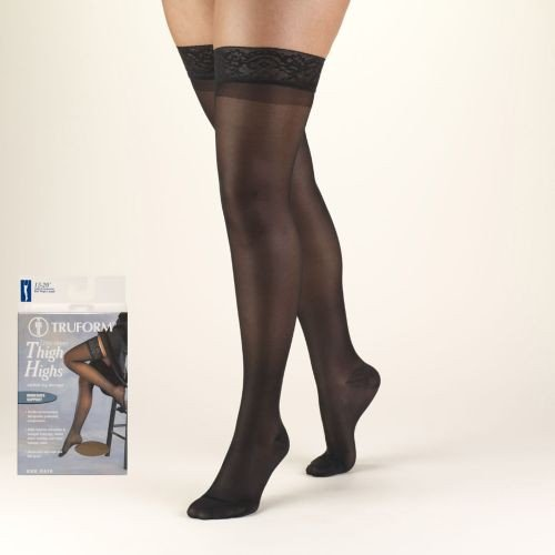 LITES Thigh High Compression Stockings 15-20 mmHg