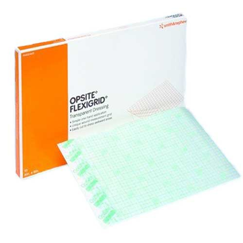 OpSite Flexigrid 6 x 8 Inch Transparent Film Dressing 66024631