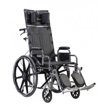 Sentra RECLINING Wheelchair with Various Seat Sizes Arm Styles and Elevating Leg Rest Options