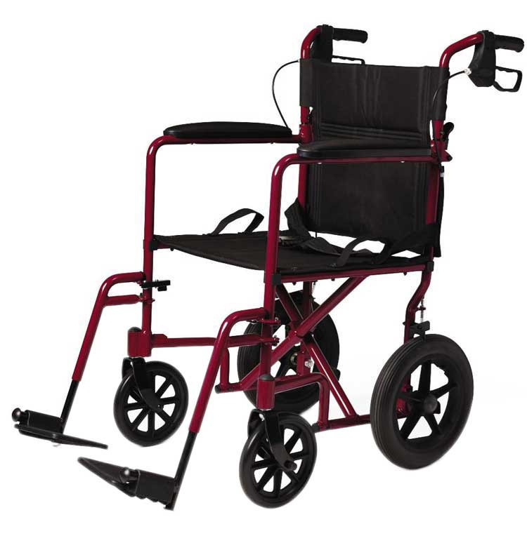 medline lightweight transport adult folding wheelchair with 12 wheels 0ce