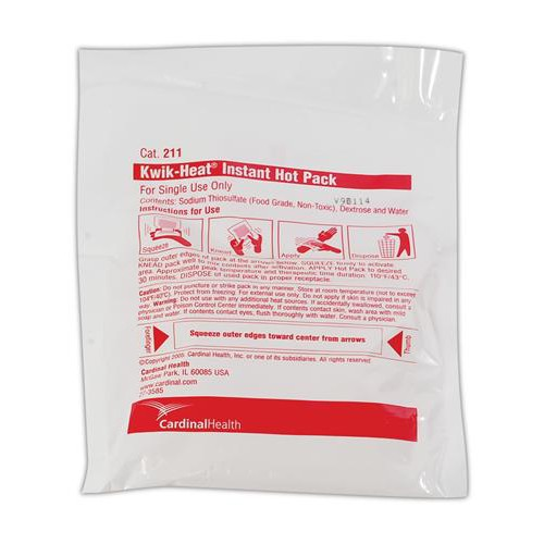 Kwik-Heat Single-Use Instant Hot Pack