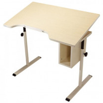 ADA Desk without Casters