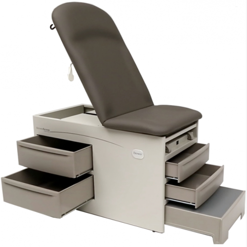 Brewer Access Exam Table w/Drawer Heater & Pelvic Tilt - 5001
