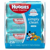 Huggies Simply Clean Baby Wipes