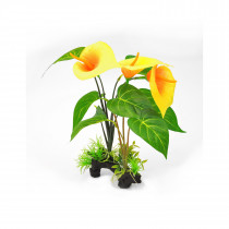 Decorative Yellow Lilly