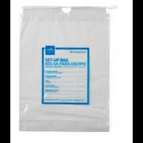 Medline Respiratory Patient Clear Set-up Bag