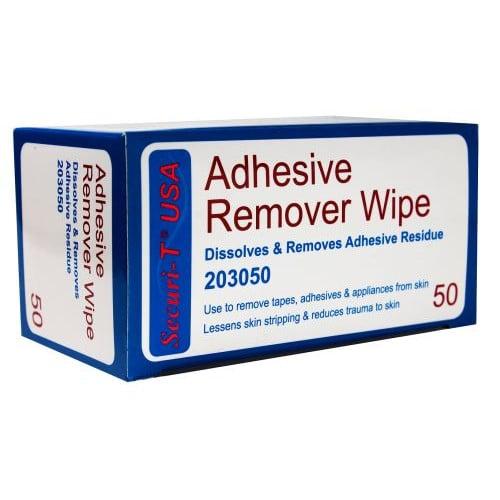 Securi-T Adhesive Remover Wipe