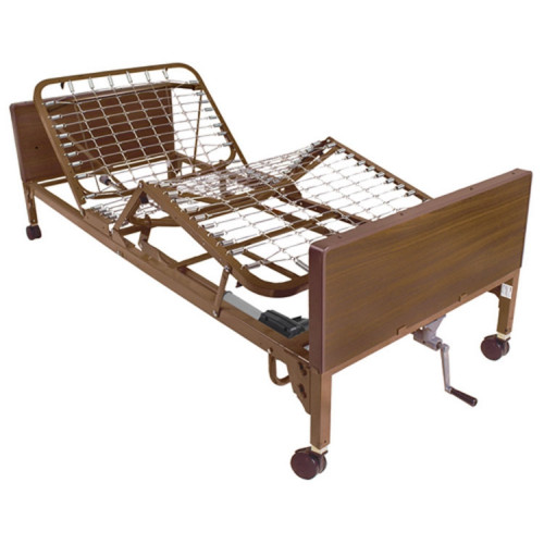 Drive Medical 15004 Semi-Electic Bed with Single Crank