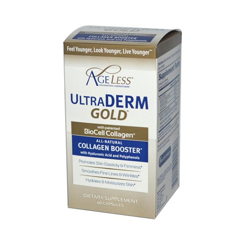 Ageless Foundation Ultraderm Gold Collagen Booster Moisturizer