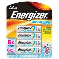 AA Energizer Advanced Lithium Batteries