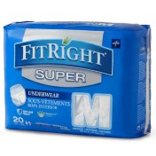 FitRight Super Protective Underwear - Super Absorbency