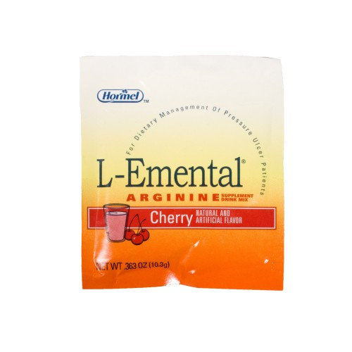 Hormel L-Emental Cherry Arginine Drink Mix