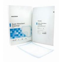 Superabsorber Super Absorbent Polymer Dressing 6 x 9 Inch - Sterile