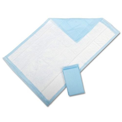 """Medline Light Absorbency 17"""" x 24"""" Fluff Disposable Underpad, Great For Changing Table and Surfaces, 300 Per Case"""