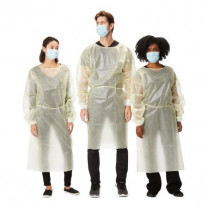 Protective Procedure Gown Long Sleeve, Disposable