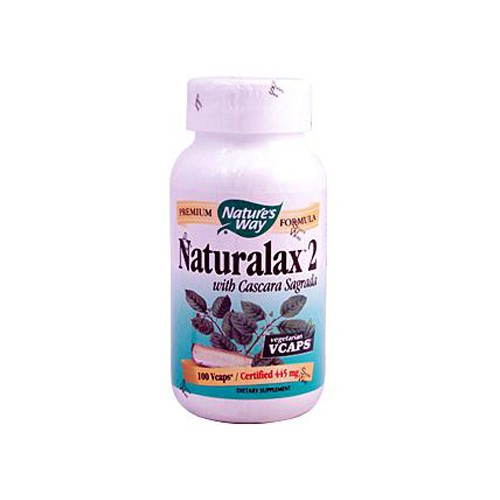 Natures Way Naturalax 2 with Cascara Sagrada
