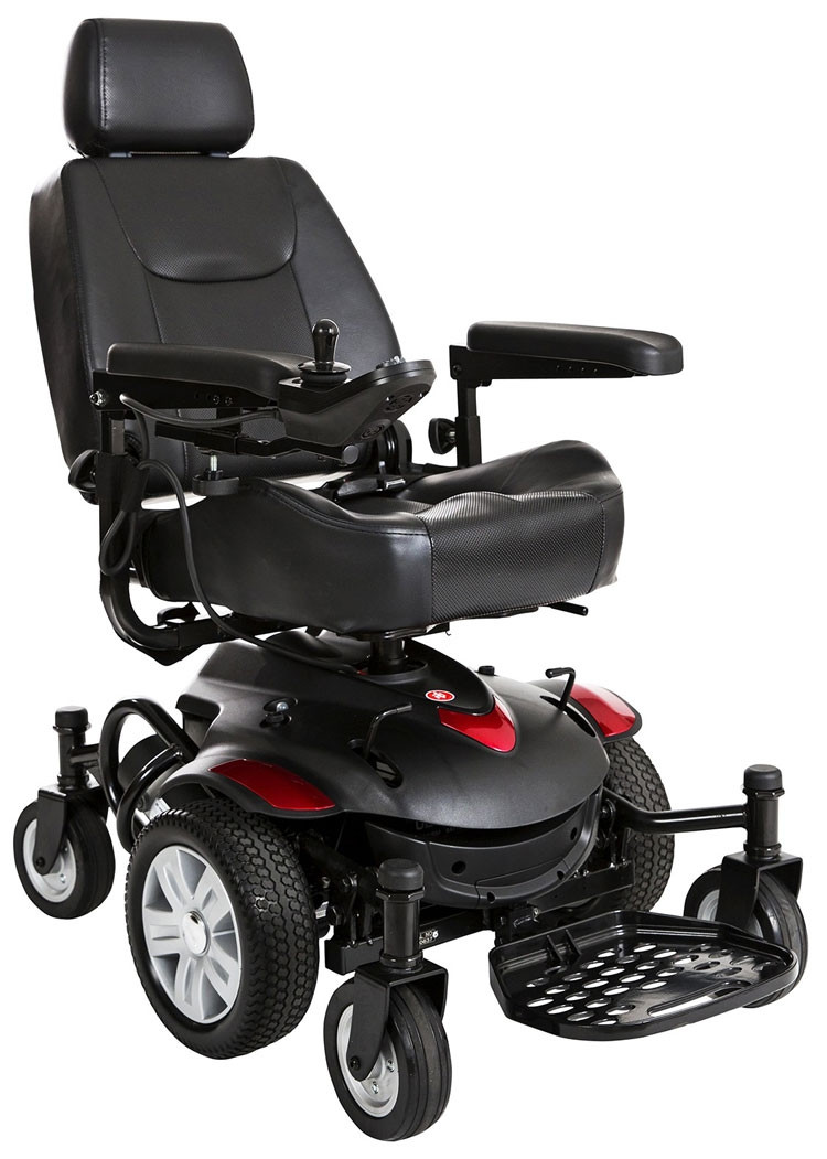 titan axs mid wheel drive powerchair 153