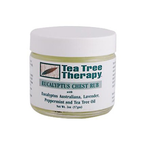 Tea Tree Therapy Eucalyptus Chest Rub Eucalyptus Australiana Lavender Peppermint and Tea Tree Oil