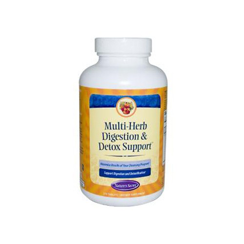 Nature's Secret Multi Herb Digestion and Detox Support