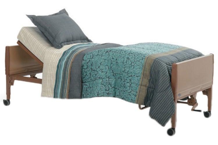 invacare 5310ivc semi electric hospital bed bundle 15a