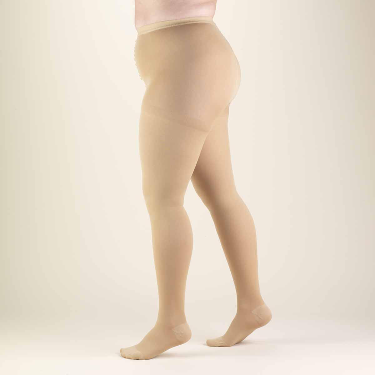 1a05f2cc8c6 TRUFORM Classic Medical Full Figure Compression Pantyhose 20-30 mmHg